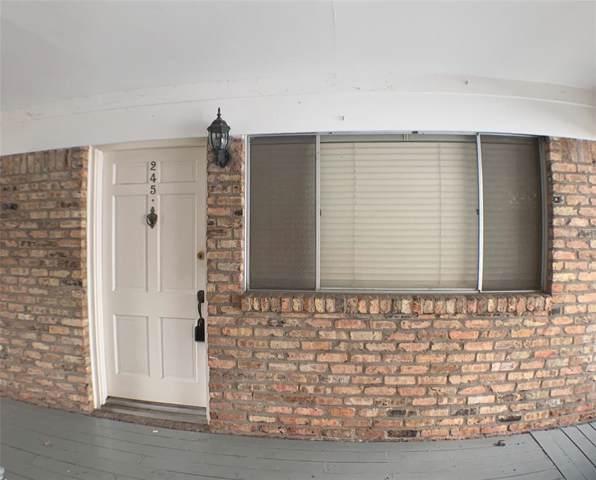4040 San Felipe Street #245, Houston, TX 77027 (MLS #23678490) :: Texas Home Shop Realty