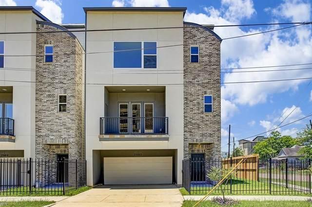 2502 Hadley Street, Houston, TX 77003 (MLS #23718414) :: The Parodi Team at Realty Associates