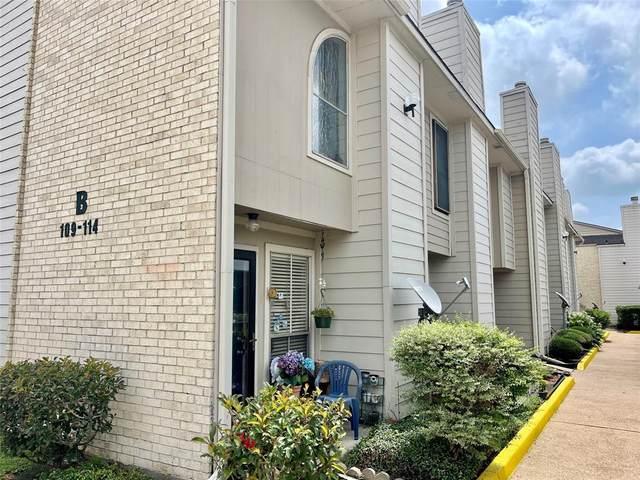 3919 Fairmont Parkway #112, Pasadena, TX 77504 (MLS #23957659) :: The Freund Group