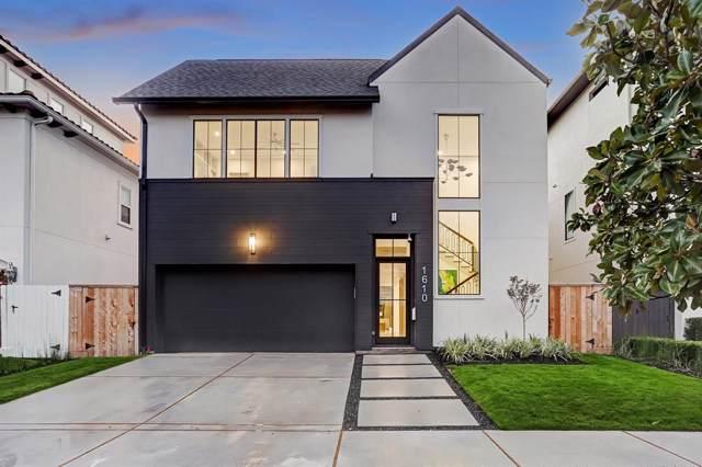 1610 Morse Street, Houston, TX 77019 (MLS #24048256) :: Texas Home Shop Realty