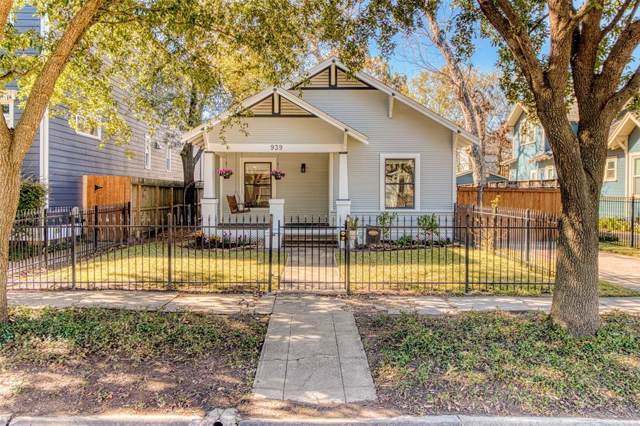 939 Oxford Street, Houston, TX 77008 (MLS #24081396) :: Caskey Realty