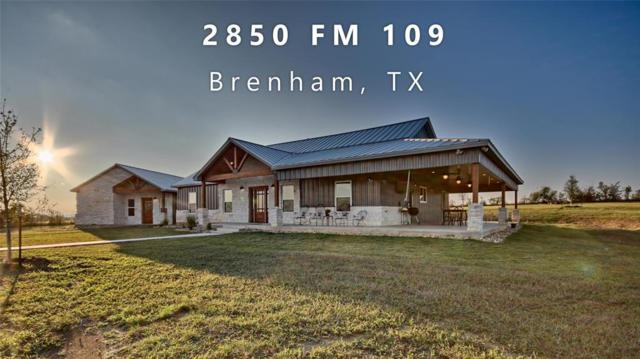 2850 Fm 109, Brenham, TX 77833 (MLS #24113755) :: The Queen Team