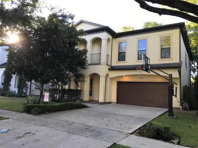 4107 Dartmouth Avenue, West University Place, TX 77005 (MLS #24359816) :: Caskey Realty