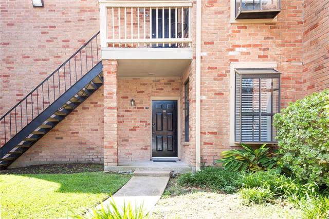 2255 Braeswood Park Drive #339, Houston, TX 77030 (MLS #24416502) :: Giorgi Real Estate Group