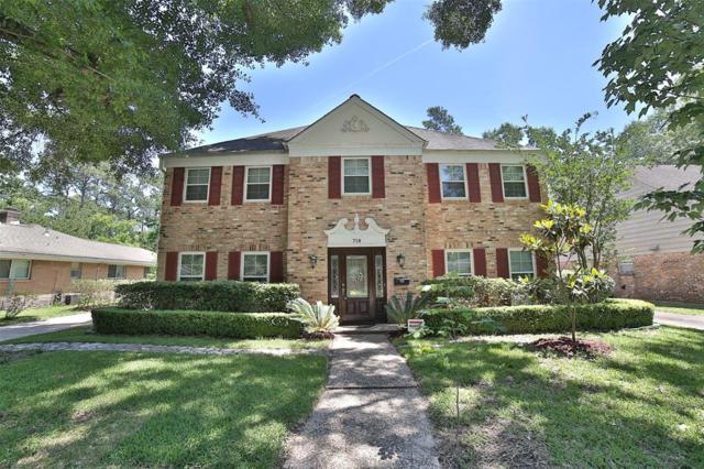 718 N Wilcrest Drive, Houston, TX 77079 (MLS #24438050) :: Giorgi Real Estate Group