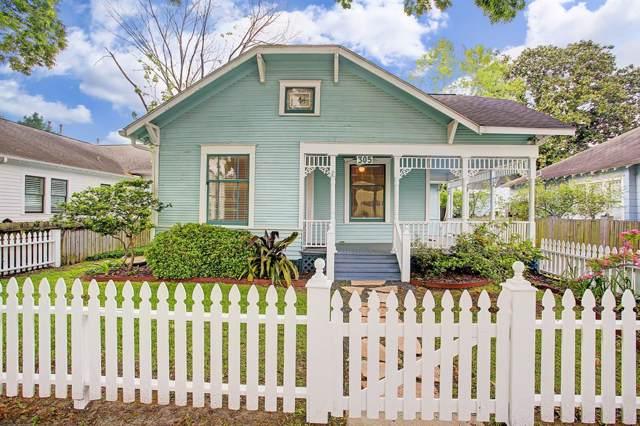 305 W 16th Street, Houston, TX 77008 (MLS #24512315) :: Giorgi Real Estate Group