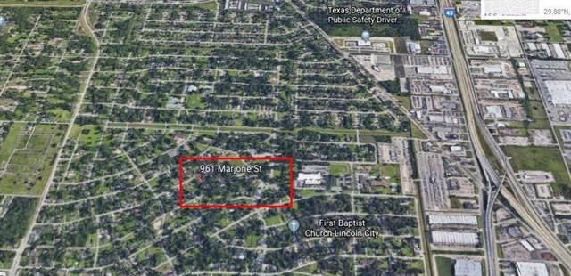 961 Marjorie Street, Houston, TX 77088 (MLS #24541194) :: Ellison Real Estate Team