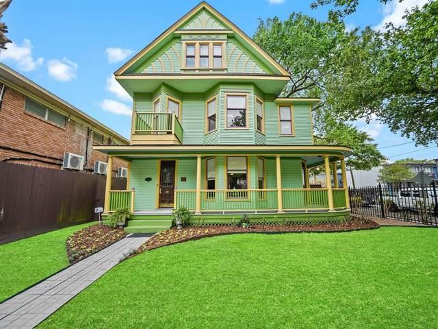 319 Hawthorne Street, Houston, TX 77006 (#24589964) :: ORO Realty