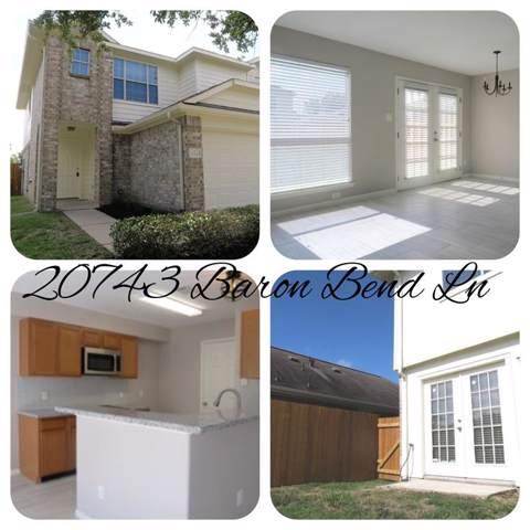 20743 Baron Bend Lane, Katy, TX 77449 (MLS #24703759) :: Ellison Real Estate Team
