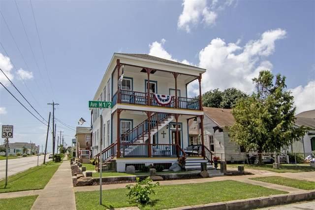 1401 Avenue M 1/2, Galveston, TX 77550 (MLS #24719814) :: The Wendy Sherman Team