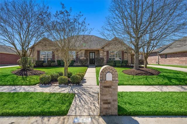 421 Scarlet Sage Drive, League City, TX 77573 (MLS #2474914) :: The Bly Team