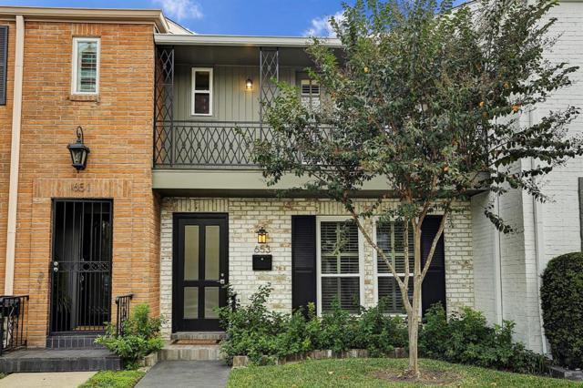 653 Post Oak Lane, Houston, TX 77024 (MLS #24941339) :: Glenn Allen Properties