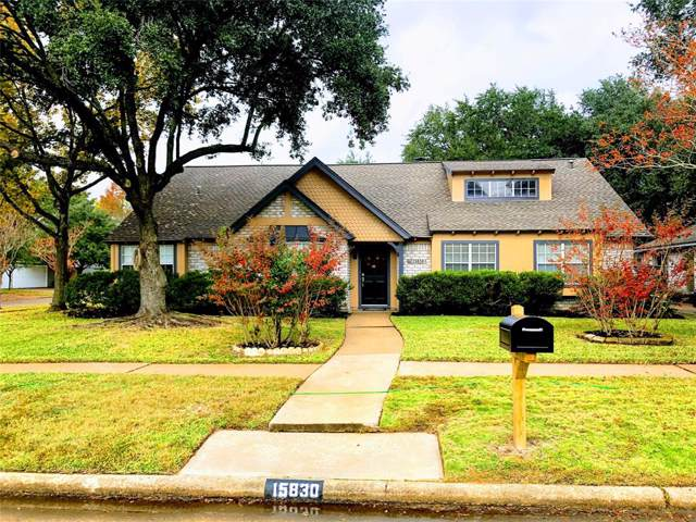 15830 Creekhaven Drive, Houston, TX 77084 (MLS #24964238) :: The Bly Team