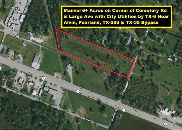 0 Cemetery Road, Manvel, TX 77578 (MLS #25464313) :: Michele Harmon Team