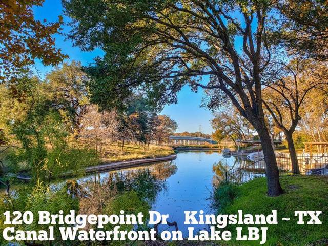 120 Bridgepoint Drive, Kingsland, TX 78639 (MLS #25483331) :: Texas Home Shop Realty