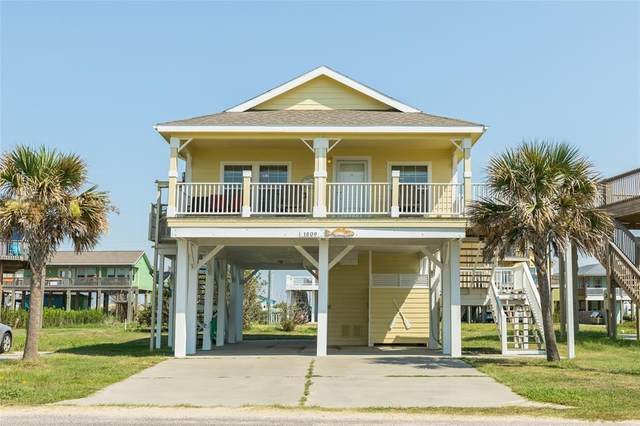 1809 Redfish Lane, Crystal Beach, TX 77650 (MLS #2578302) :: Michele Harmon Team