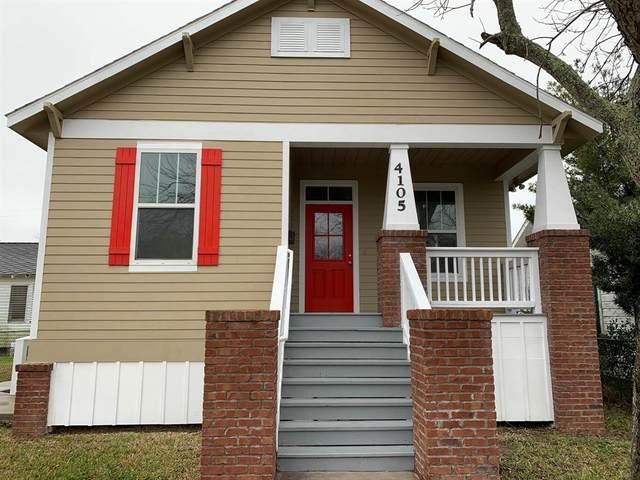 4105 Avenue R 1/2, Galveston, TX 77550 (MLS #25865327) :: The Jennifer Wauhob Team