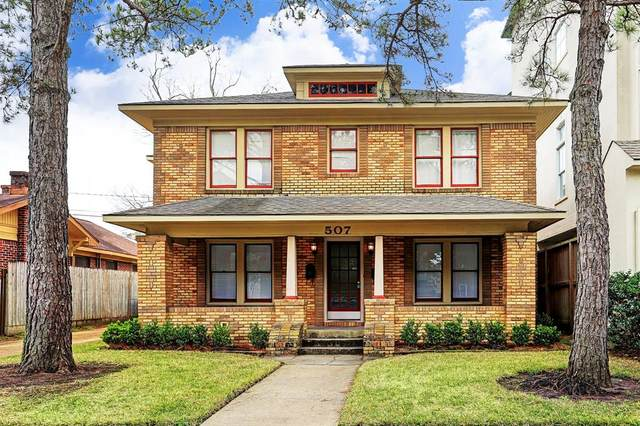 507 W Pierce Street, Houston, TX 77019 (MLS #25905236) :: Green Residential