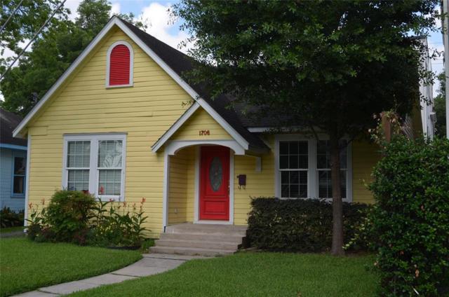 1706 Ridgewood Street, Houston, TX 77006 (MLS #25983700) :: The Sansone Group