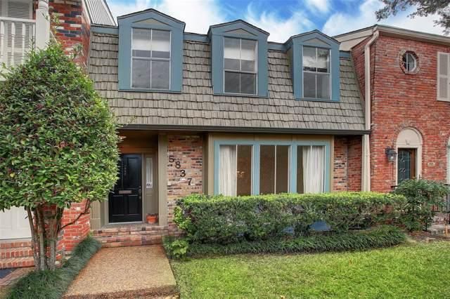 5837 Sugar Hill Drive #36, Houston, TX 77057 (MLS #26280597) :: Ellison Real Estate Team