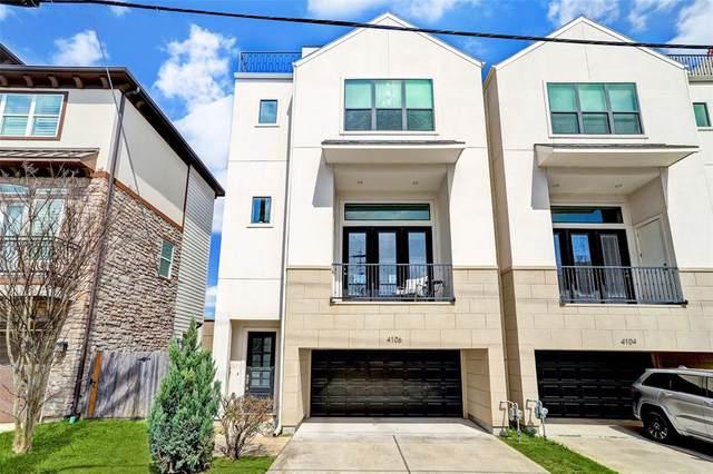 4106 Marina Street, Houston, TX 77007 (MLS #26369918) :: Giorgi Real Estate Group