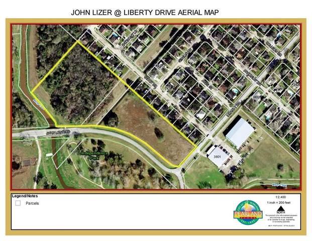 00 John Lizer At Liberty Drive, Pearland, TX 77581 (MLS #26562266) :: Green Residential