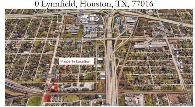 0 Lynnfield Avenue, Houston, TX 77016 (MLS #26850166) :: The Jill Smith Team