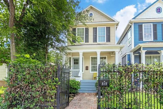818 W 27th Street, Houston, TX 77008 (MLS #26954411) :: Keller Williams Realty