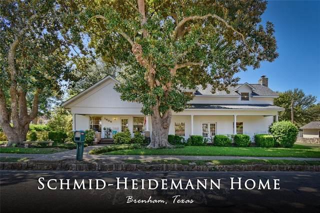 1606 Church Street, Brenham, TX 77833 (MLS #26995146) :: Michele Harmon Team