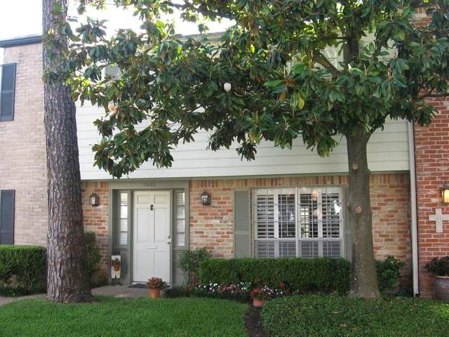 12623 Huntingwick Drive #183, Houston, TX 77024 (MLS #27065600) :: My BCS Home Real Estate Group