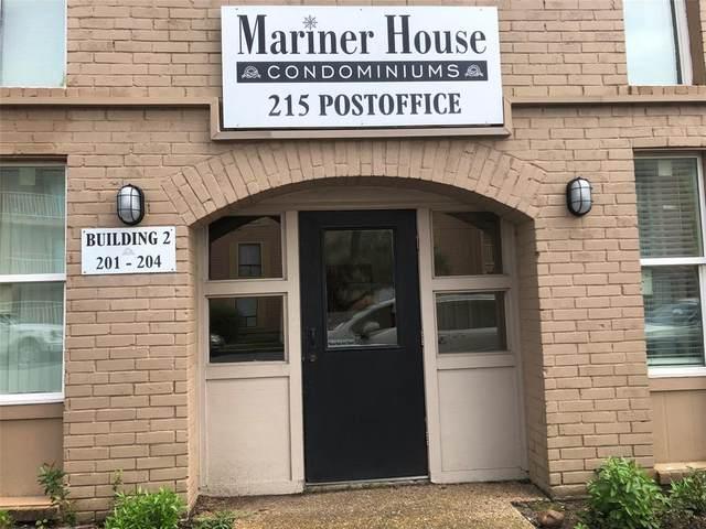 215 Post Office Street #202, Galveston, TX 77550 (MLS #27259457) :: The Home Branch