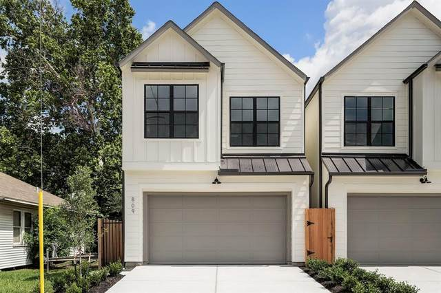 809 E 25th Street, Houston, TX 77009 (MLS #27546286) :: The SOLD by George Team