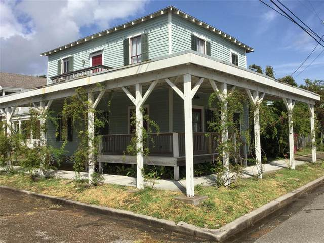 1404 Avenue L, Galveston, TX 77550 (MLS #27758198) :: Caskey Realty