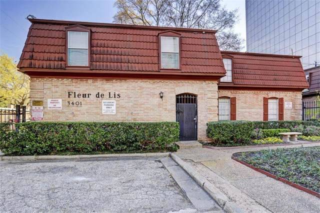 3401 Timmons Lane #38, Houston, TX 77027 (MLS #27784620) :: The Bly Team