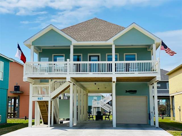 927 Tidelands Drive, Crystal Beach, TX 77650 (MLS #27873006) :: Michele Harmon Team