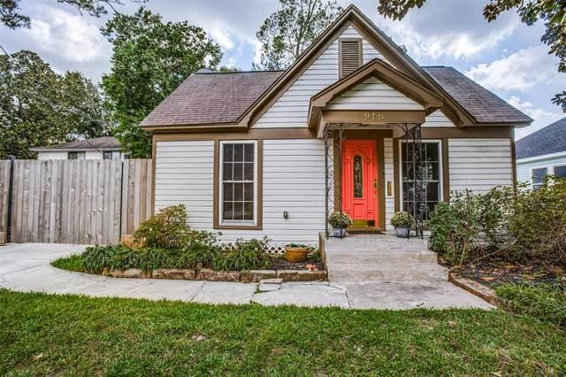 918 Woodard Street, Houston, TX 77009 (MLS #27875138) :: The Home Branch