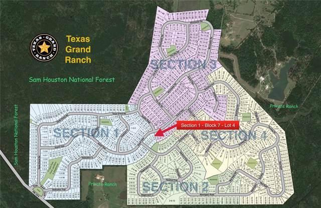 1-7-4 Dedication Trail, Huntsville, TX 77340 (MLS #2788072) :: Texas Home Shop Realty