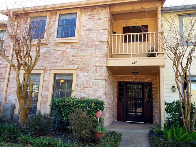 5801 Lumberdale Road #129, Houston, TX 77092 (MLS #28226517) :: Ellison Real Estate Team