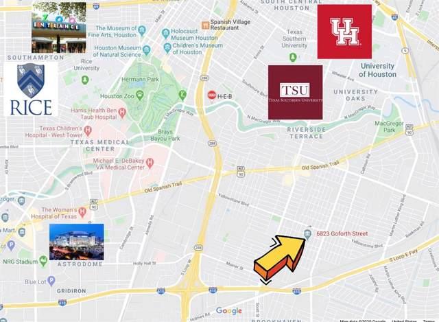 6823 Goforth Street, Houston, TX 77021 (MLS #28319084) :: The Freund Group