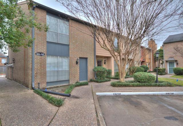 6111 Beverlyhill Street #58, Houston, TX 77057 (MLS #28379987) :: Giorgi Real Estate Group
