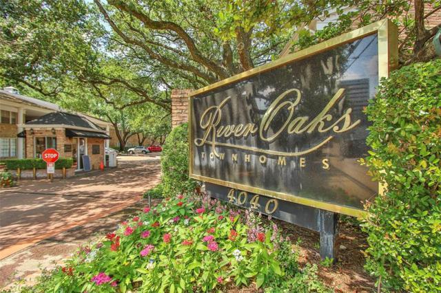 4040 San Felipe Street #109, Houston, TX 77027 (MLS #29013171) :: Texas Home Shop Realty