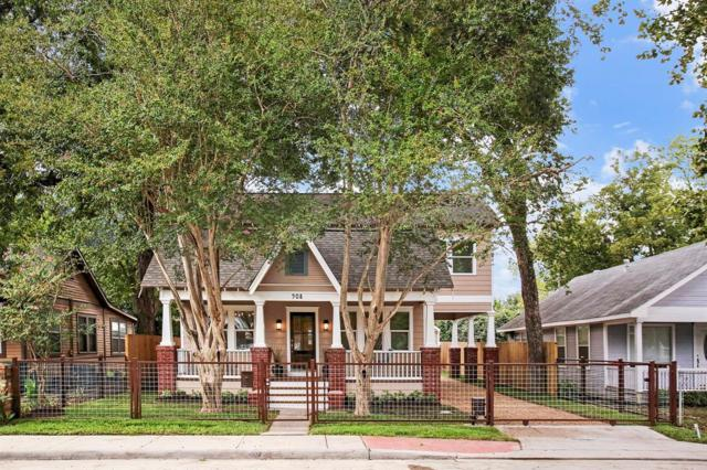 908 Tabor Street, Houston, TX 77009 (MLS #29701639) :: Texas Home Shop Realty