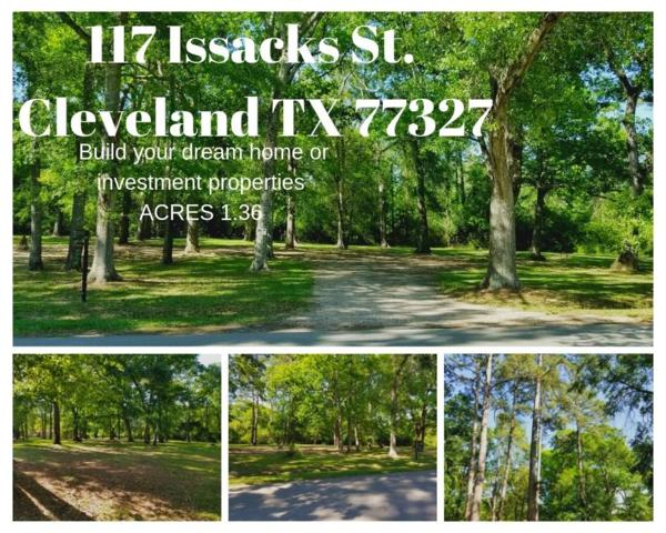 117 Issacks Street, Cleveland, TX 77327 (MLS #29957652) :: The Bly Team