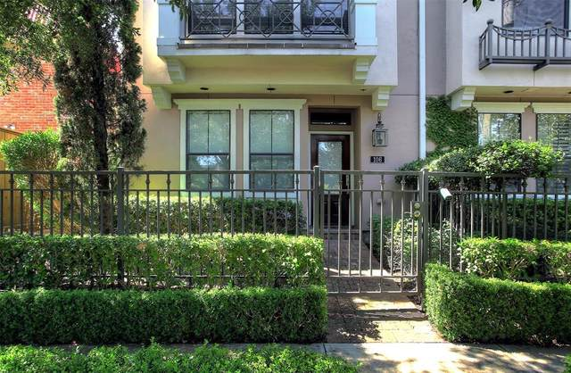 3302 Audley Street #106, Houston, TX 77098 (MLS #30532151) :: Texas Home Shop Realty