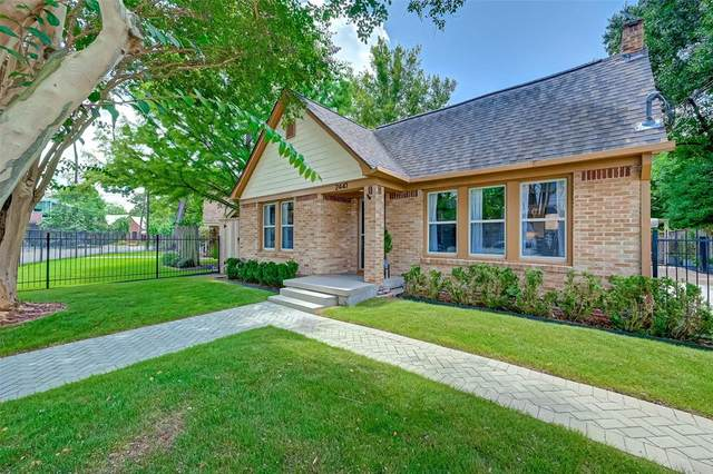 2441 White Oak Drive, Houston, TX 77009 (MLS #30540754) :: Lerner Realty Solutions