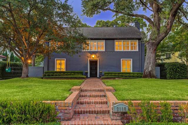 2110 Del Monte Drive, Houston, TX 77019 (MLS #30628478) :: The Bly Team
