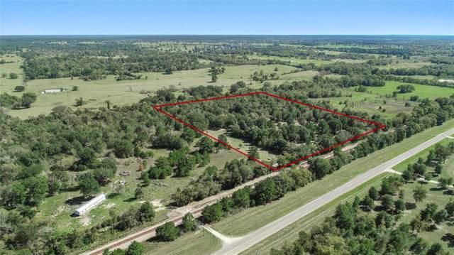 15.23 Acres Fm 1486, Anderson, TX 77830 (MLS #30793616) :: Texas Home Shop Realty