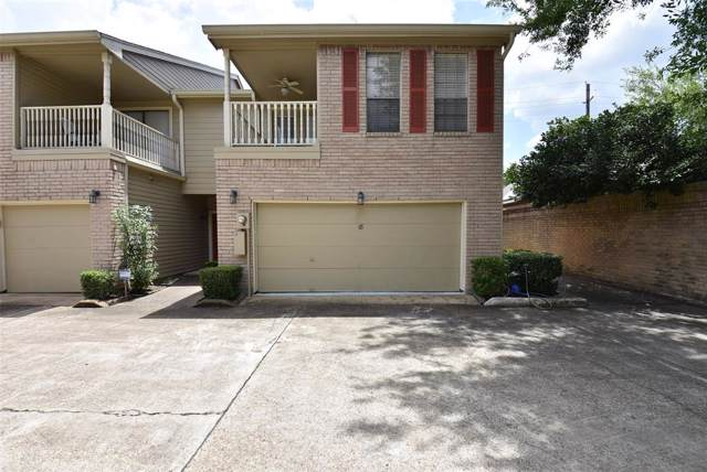 7350 Kirby Drive #18, Houston, TX 77030 (MLS #3085339) :: Giorgi Real Estate Group