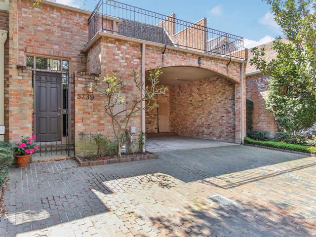 5739 Indian Circle, Houston, TX 77057 (MLS #30868003) :: Giorgi Real Estate Group