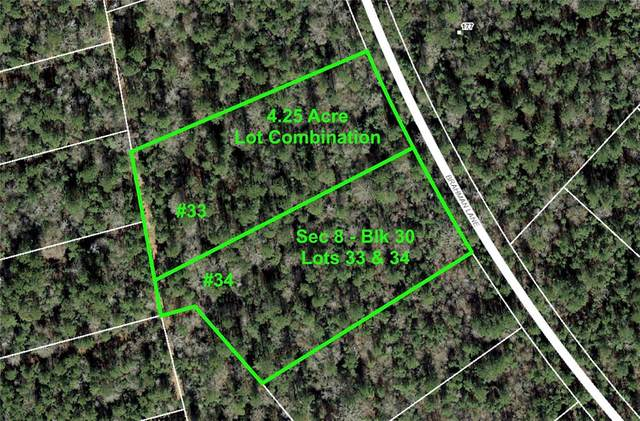 8-30-33,34 Brahman Lane, Huntsville, TX 77340 (MLS #31289977) :: Ellison Real Estate Team
